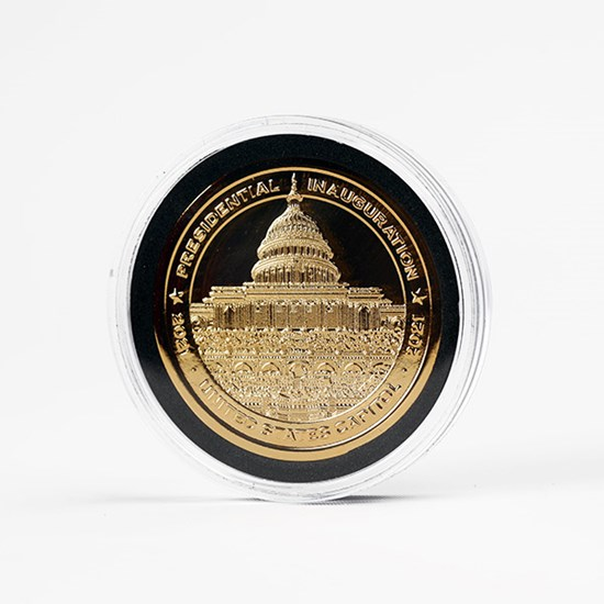 22k Commemorative Coin Honoring Inauguration 2021