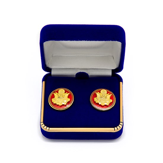 Great Seal Stud Earrings
