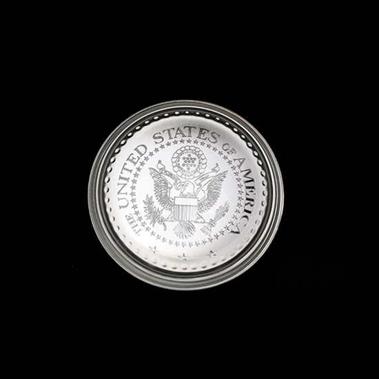 Pewter Paperweight with Great Seal