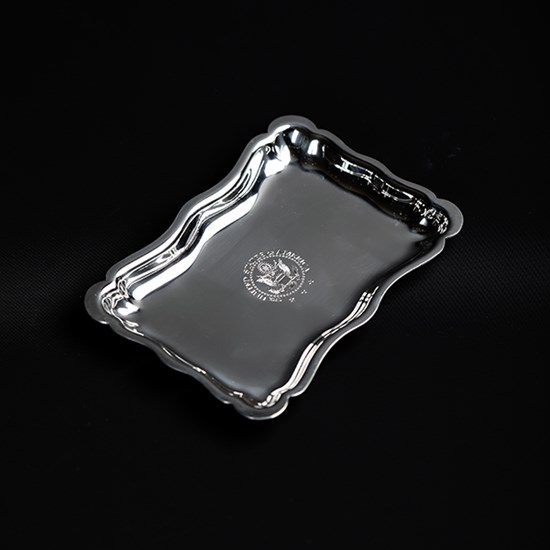 Pewter Tray with Engraved Great Seal