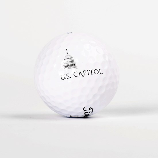 U.S. Capitol Titleist TruFeel Golf Ball