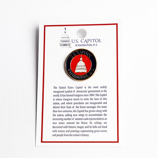 U.S. Capitol Red Pin