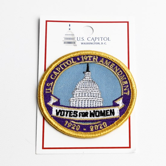 Votes for Women 100th Anniversary Patch