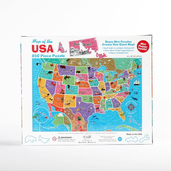 Map of the USA Puzzle