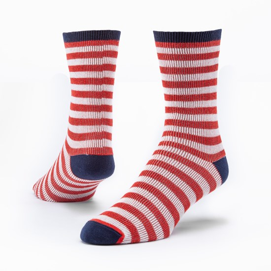 U.S.A. Flag Stripe Socks